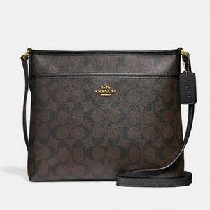 NWT Coach File Bag Messenger Crossbody Bag